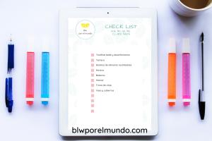 checklist blw
